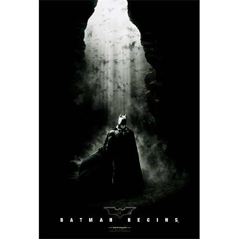 Batman Begins Póster de en una cueva raras caliente nueva 24x 36