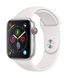 AppleWatch Series4 (GPS+Cellular) con caja de 44mm de aluminio en plata y correa deportiva blanca (B07K1YRW9D) | Amazon price tracker / tracking, Amazon price history charts, Amazon price watches, Amazon price drop alerts