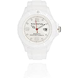 MUSAVENTURA Watch Analogue Display and Silicone Strap REF 155_191
