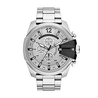 Diesel Reloj Cronógrafo para Hombre de Cuarzo con Correa en Acero Inoxidable DZ4501