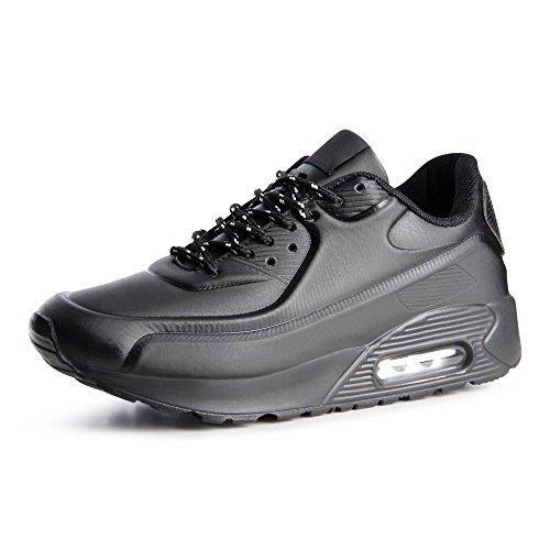topschuhe24785Femme Sneaker Chaussures de sport Noir - Noir