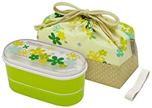 (2 Dan chopsticks belt) flower river with a bag lunch box (G) KSX2 (japan import)