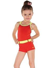 Mädchen Badeanzug mit Bein Schwimmanzug Kinder Bademode UV-Schutz Bunte Farben