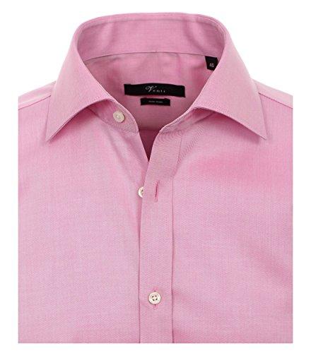 Michaelax-Fashion-Trade Camicia Classiche - Basic - Classico - Maniche Lunghe - Uomo Rosa (401)
