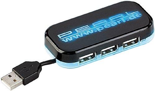 PEARL High-Speed USB-2.0-Hub mit 4 Ports