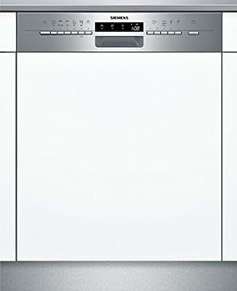Siemens SN56P532EU Semi built-in 13places A+++ Stainless steel lave-vaisselle - lave-vaisselles (Semi intégré, Acier inoxydable, boutons, A, A, A+++)