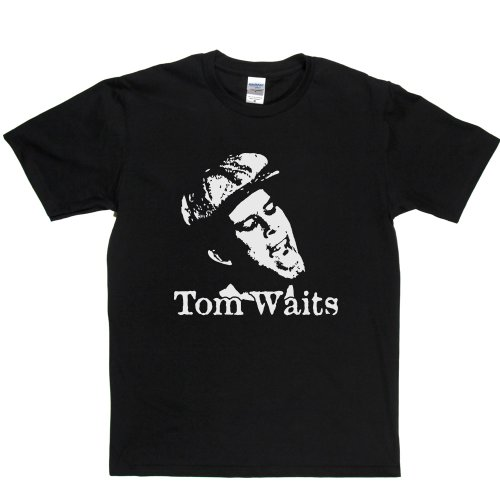 Tom Waits Thomas Alan Voice T-shirt Schwarz