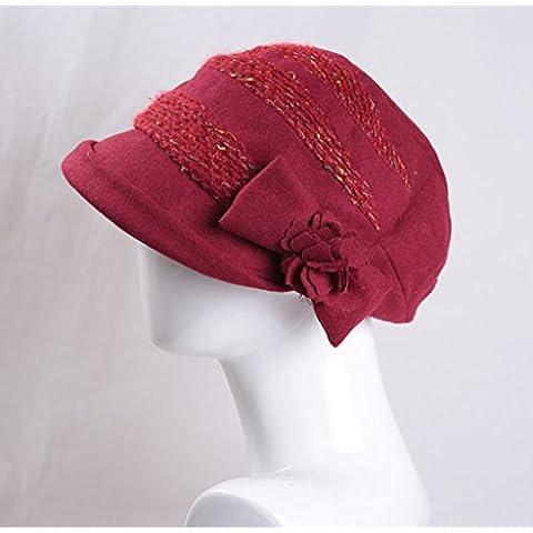 XZWZ Inverno bambini cappello signore autunno berreti cappello caldo pescatore