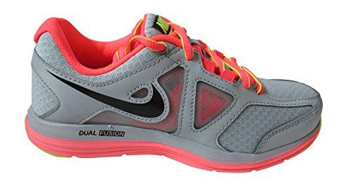 Nike 642826 W Dual Fusion Lite 2 MSL Damen Sportschuhe light magnet grey black hyper punch volt 015