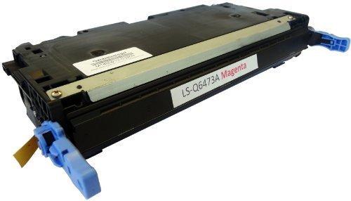 Bubprint Toner kompatibel für HP Q6473A HP 502A für Color LaserJet 3600 3600DN 3600N 3600 Series 4.500 Seiten Magenta/Rot (Hp Q6473a Laser Magenta)
