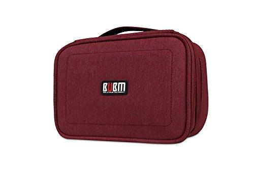 bubm-double-layer-electronics-accessori-borse-travel-gear-organiser-casi-nero-blu-rosso-rosso-red-95