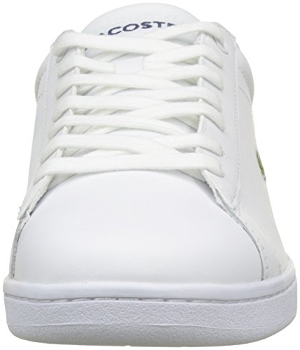 Lacoste Carnaby Evo Bl 1 Spm Wht, Basses Homme Blanc (Wht)
