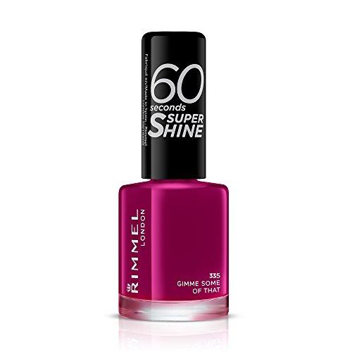 Rimmel - 60 Seconds Super Shine - Vernis à ongles Gimme Some Of That - 8 ml (Violet)