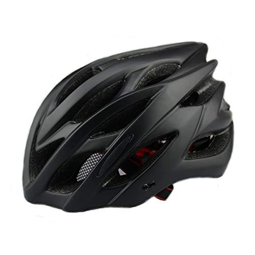 QYWSJ Cycle Bike Helme, Ultraleichter Erwachsener Helm, SicherheitsrüCklicht, Einstellbarer Atmungsaktiver Helm FüR MäNner Road Mountain Safety Protection Fahrradhelm