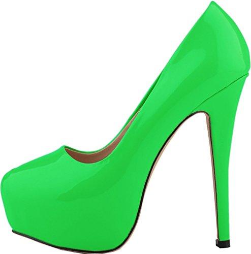 CFP , Damen Plateau , grün - grün - Größe: 40