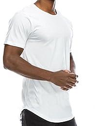 T-Shirt Coton Homme,GongzhuMM 2018 Nouveau Été T-Shirt Sport Homme Grande Taille Hip Hop Chemise Couleur Uni Blouse Homme Taille S-XL
