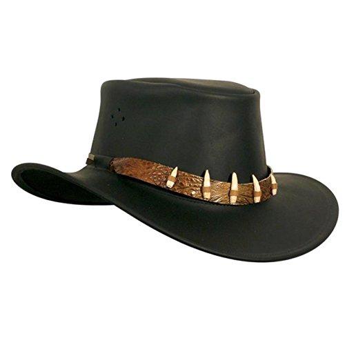 Le chapeau The Croc de Kakadu Traders, 3H15 Noir