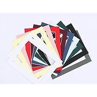 Frame Company Juego de 10 paspartús, negro, 35,56 cm x 27,94 cm para foto de tamaño A4
