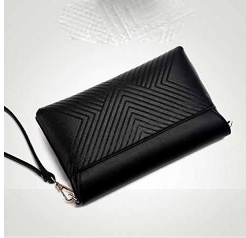 LAIDAYE Damen Handtasche Handtasche Handtasche Handtasche Kleine Tasche Schulter Tasche Messenger Bag Red
