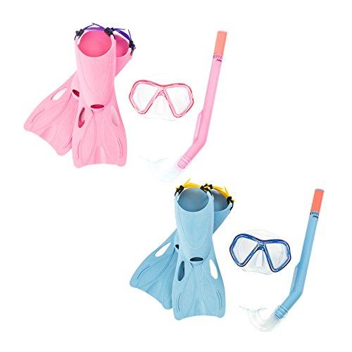 Bestway Hydro-Swim Tauch-Set, für Kinder, Galapagos, Größe: 34-37, sortiert