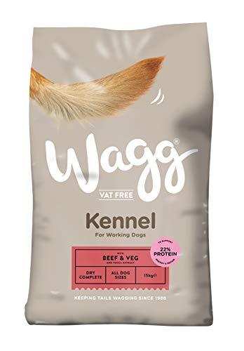 Wagg Kennel Rindfleisch und Gemüse komplettes Hundefutter, - My Friend Hundefutter