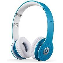 Beats By Dr. Dre Solo HD - Auriculares de diadema abiertos (con micrófono, control remoto integrado), azul claro