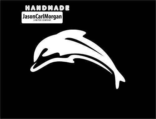 Se transfiere con plancha JCM¨ decorativa y calcomanías para tartas, diseño de delfín blanco