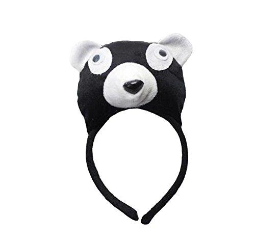 2 pezzi di puntini per performance creative lovely panda headband