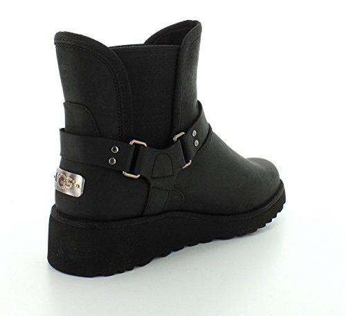Ugg Australia Womens Glen Leather Boots Black