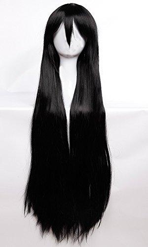 S-noilite® 100cm Cosplay Perücke Langhaarperücke Glatt lang Manga Damen voll Wig Partei Party Kostüm - ()