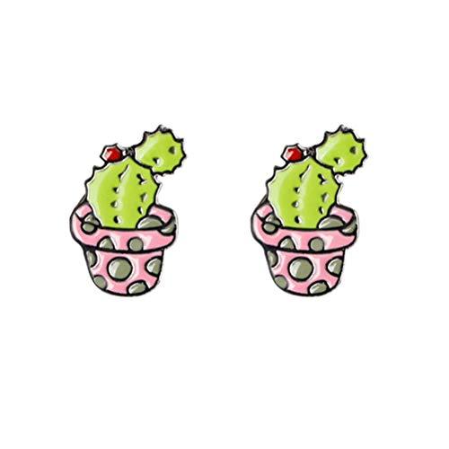 Amosfun 2 stücke Kaktus Brosche Pins Corsage Kleidung Taschen schal brosche Clip Dornschließe mexikanische Fiesta Cinco de Mayo Party begünstigt Geschenke