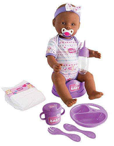 Simba 105030060 - New Born Baby Ethnische Puppe