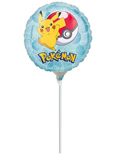 Generique - Pokemon-Folienballon Raumdekoration bunt 23cm