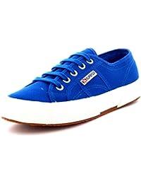 Superga 2832 Nylu - Scarpe da Ginnastica Basse Unisex Adulti, Blu (Blue (Blue/Royal/Black)), 42