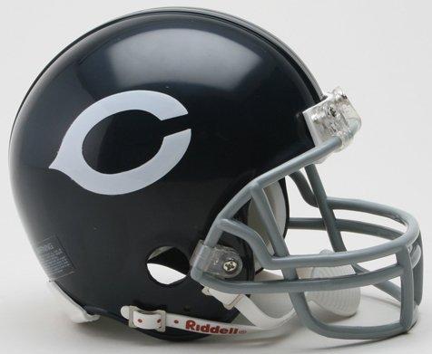 Chicago Mini (Riddell Chicago Bears NFL Throwback Mini Helmet)