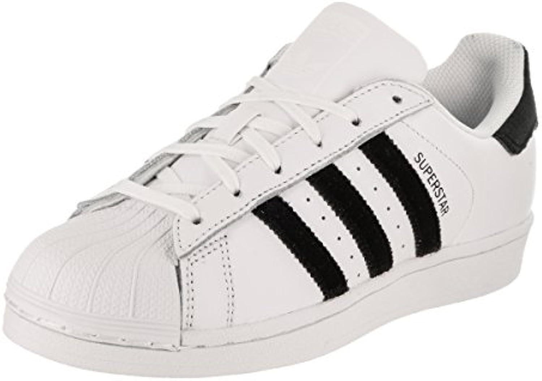 adidas originaux enfants unisexe superstar velvet (gamin) noir blanc / noir (gamin) 4,5 m us grand enfant 4c262c