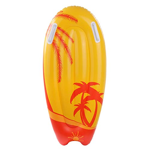 Jilong Kick-Board Orange Wave Wakeboard 95x45x15 cm Schwimmbrett Surfbrett Wellenreiter Luftmatratze