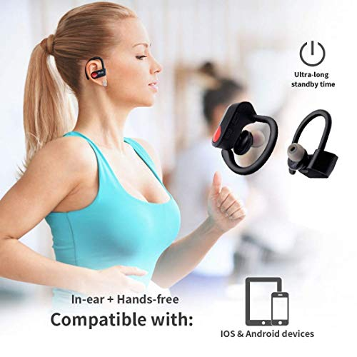 pTron Twins Pro in-Ear True Wireless Bluetooth Headphones (TWS) with Mic - (Black) Image 5