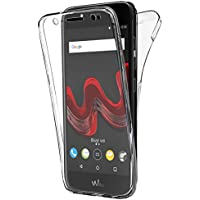Coque Gel Wiko Wim Lite , Buyus Coque 360 Degres Protection INTEGRAL Anti Choc , Etui Ultra Mince Transparent INVISIBLE pour Wiko Wim Lite , Coque Wiko Wim Lite