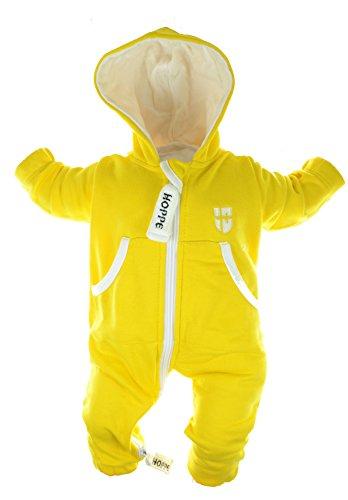 Gennadi Hoppe Baby Jumpsuit - Overall, gelb, 18-24