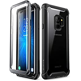 i-Blason Samsung Galaxy S9 case, [Ares] Full-body Rugged Clear Bumper Case with Built-in Screen Protector for Samsung Galaxy S9 2018 Release