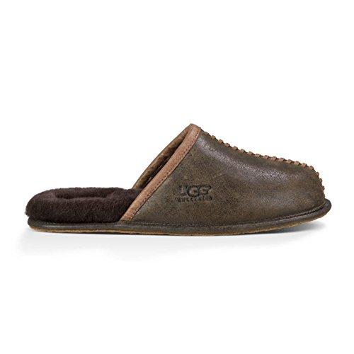 UGG - Pantoufle - SCUFF DECO - 1008548 - stout (brown) braun