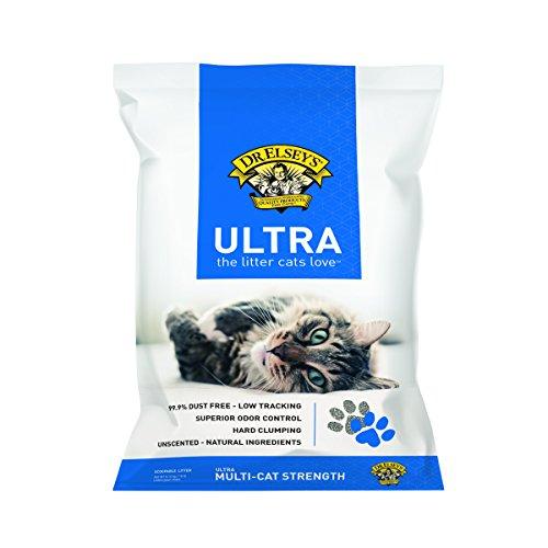 Precioso gato Ultra Premium agrupamiento Cat Litter
