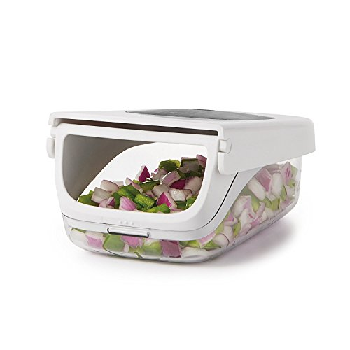 41HvMYiHC0L. SS500  - OXO Good Grips Vegetable Chopper with Easy Pour Opening - White