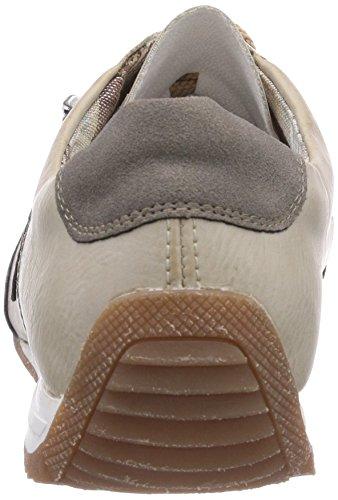 Rieker - L9044, Chaussures D'entraînement Pour Femme Blanches (staub / Offwhite / Staub / 42)
