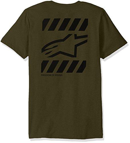 Alpinestars T-Shirt Blatant Military Oliv