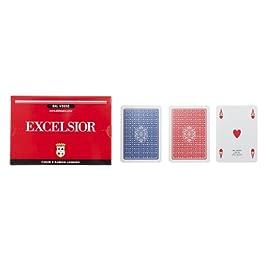 Dal Negro – 21008 ramino Excelsior doppio, carte da gioco.