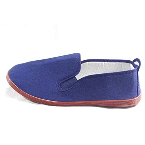 Hausschuhe für Tai Chi und Yoga Kunfu Irabia marineblau Marineblau