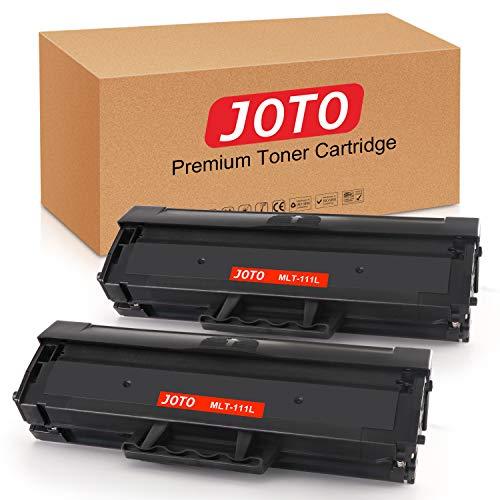 JOTO MLT-D111S MLT-D111L Kompatibel für Samsung MLTD111S D111s Toner Schwarz(2 pack),für Samsung Xpress M2070W M2026W M2070FW M2026 M2022W M2022 M2020 M2070F M2020W M2070 (Mit Chip)