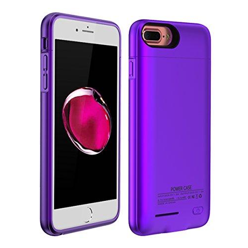 iPhone 6 iPhone 6s 4.7 inch iPhone 7 iPhone 8 Akku Case Hülle Power Bank Schutzhülle Handyhülle Akkupack Wiederaufladbares externes mit Audioschutz Batterie Backcover Ladegerät Akku Smart Battery